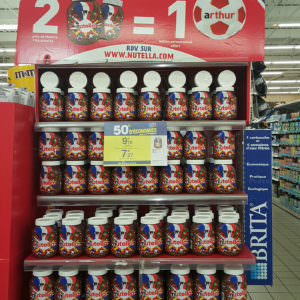 Doming Nutella football 2016