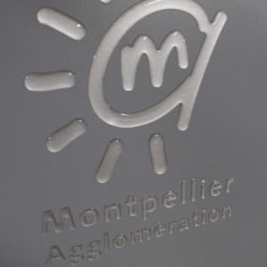 Doming logo agglomération Montpellier