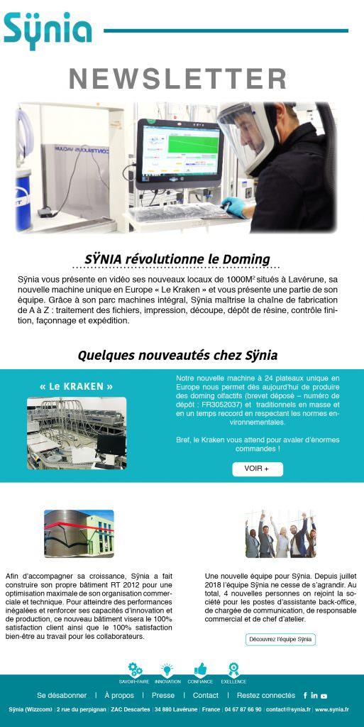 Sÿnia Newsletter