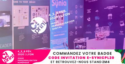 Sÿnia participe à C!Print Lyon du 4 au 6 février 2020